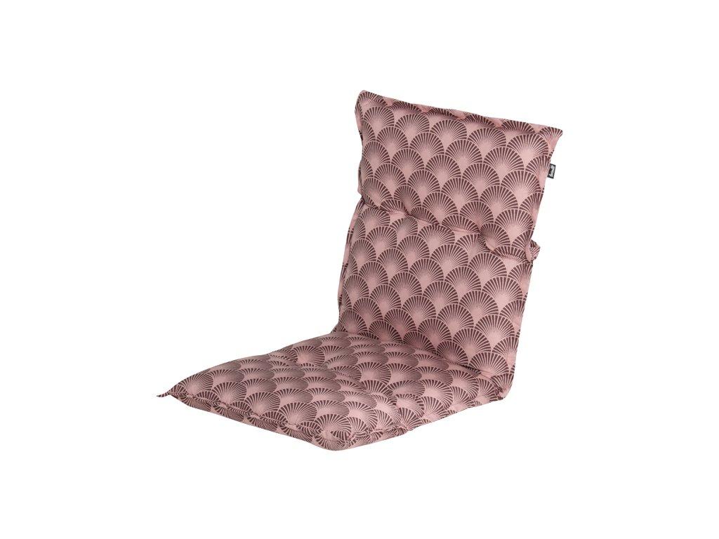 polstr na zahradní židli růžový