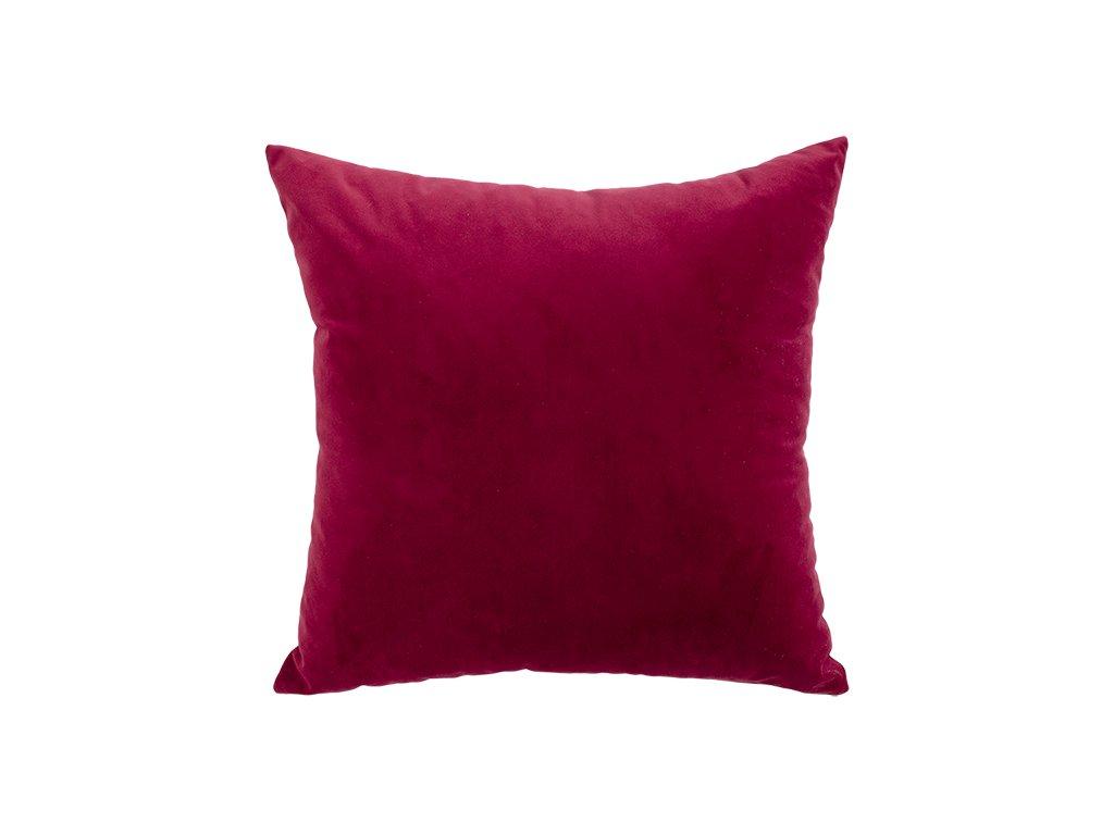 Hartman dekorační sametové polštáře bordo