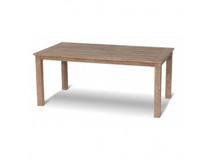teakový stůl