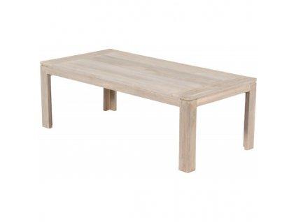 Modrian kávový teakový stolek130x65x40cm