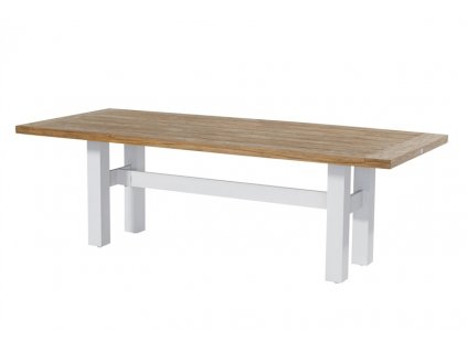 Hartman zahradní jídelní stůl Yasmani 240x100cm bílá barva