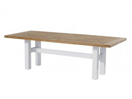 jídelní stůl Yasmani 240x100cm bílá barva