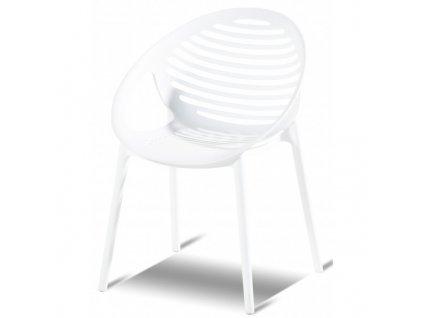 Hartman plastová židle bílá