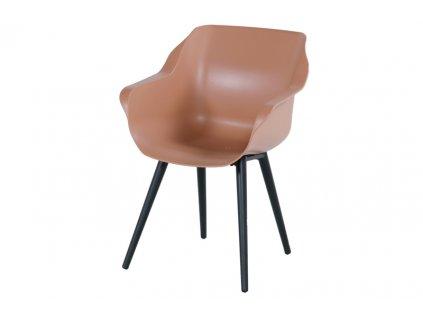 jídelní židle růžová barva