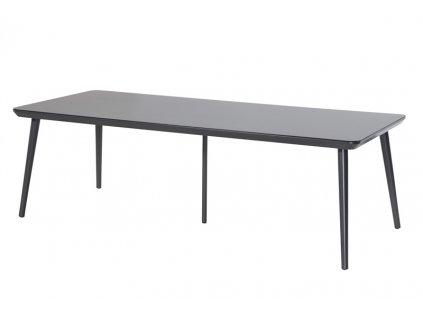 zahradní stůl 240x100cm černý