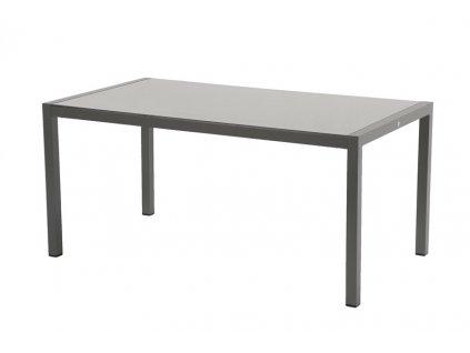 hliníkový zahradní stůl taupe