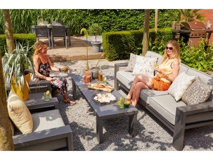 relaxační set na zahradu od firmy Hartman