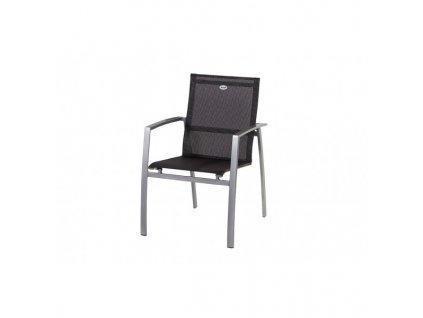 pevná hliníková židle