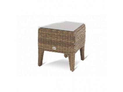 boční stolek Hartman z umělého ratanu