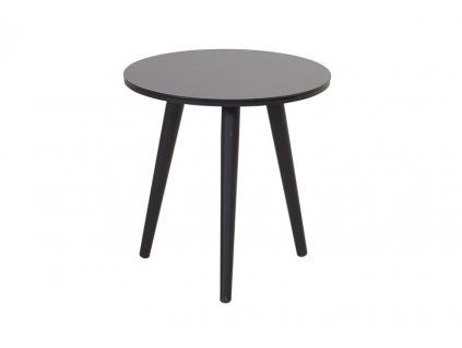 malý kulatý stolek