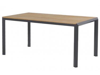zahradní stůl s teakovu deskou