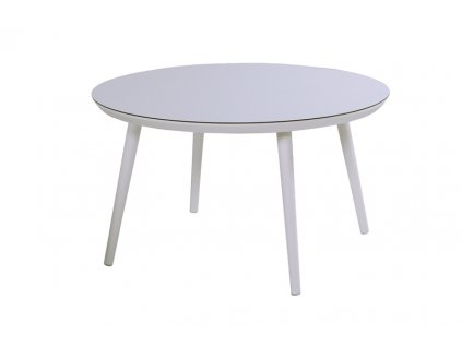 jídelní stůl kulatý white