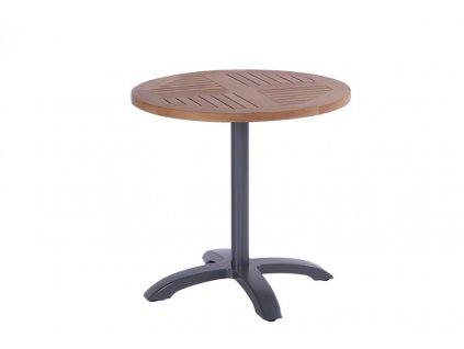 Hartman kulatý zahradní stůl s teakovu deskou