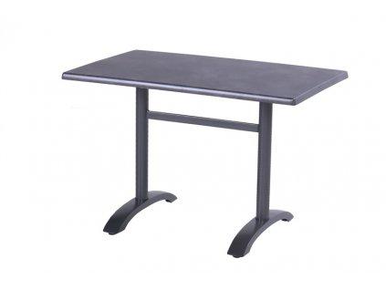 sklápěcí zahradní stůl černý