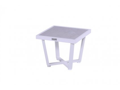 boční stolek white