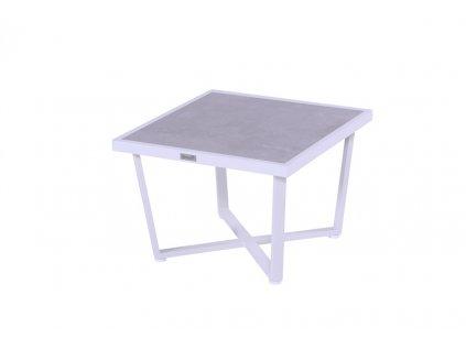 nízký kávový stůl bílý