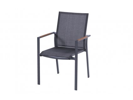 Hartman pevná hliníková židle stohovatelná