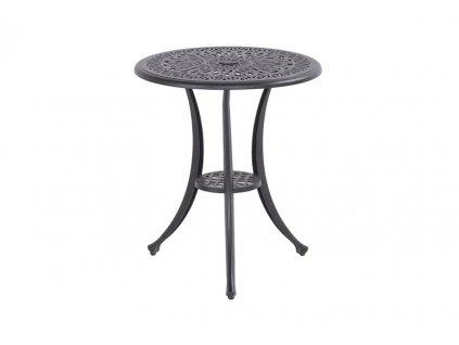 Hartman malý kulatý stolek z tepaného hliníku