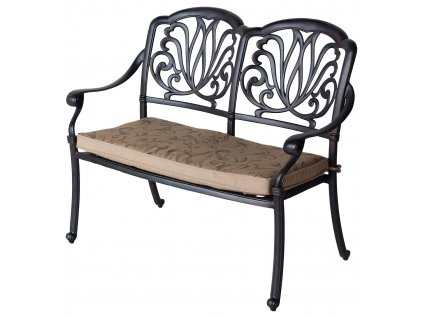 Amalfi Bench bronze