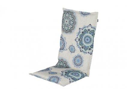 Potah na polohovací zahradní židli blue