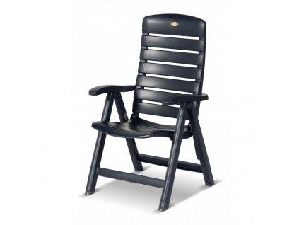 plastová zahradní židle polohovací