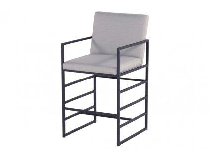 barová židle hliníková