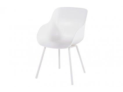 jídelní židle Hartman bílá
