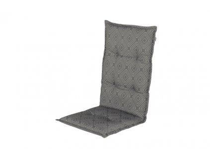 Hartman Polstr potah sedák šedý na polohovací zahradní židli