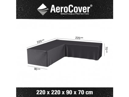 7944 lounge set cover corner 220x220 anthracite M Aerocover 8717591776192