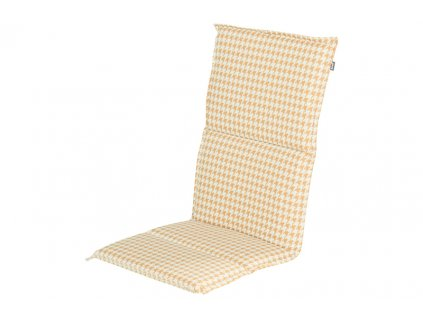 polstr potah žlutý na zahradní polohovací židli Hartman