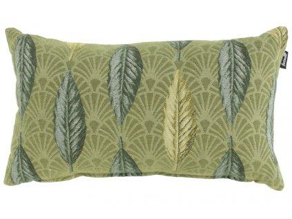 dekorační zelený polštář z kolekce Hartman