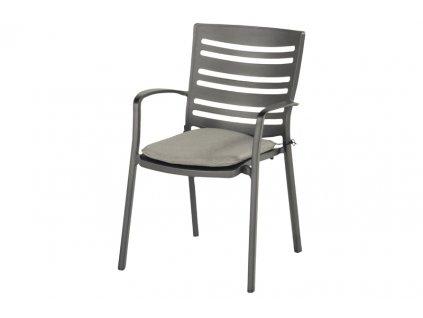 zahradní pevná hliníková židle Hartman