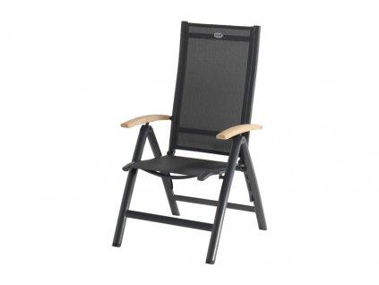 Hartman polohovací hliníková židle