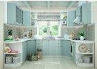 Kuchyňská linka Provence světle modrá