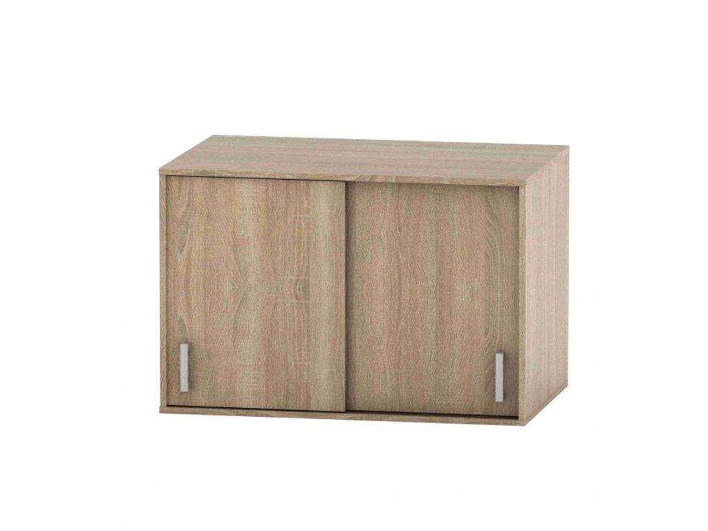 Nástavec na skříň, dub sonoma, BETTY 4 BE04-004-00