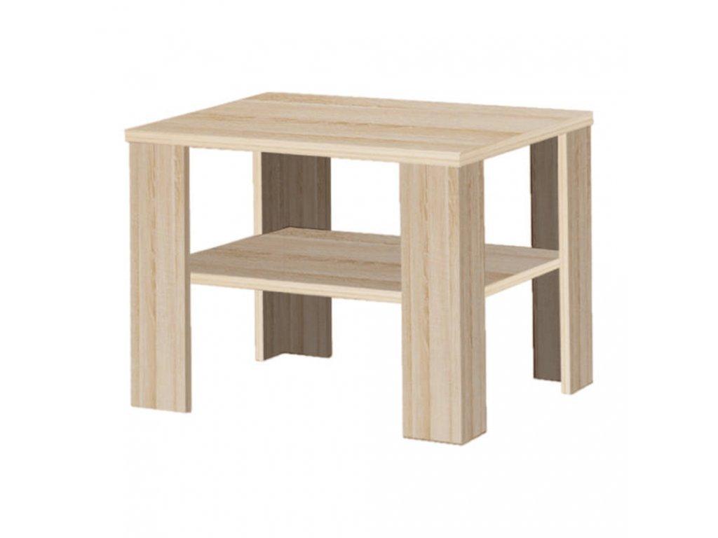 Konferenční stolek, dub sonoma, INTERSYS 21