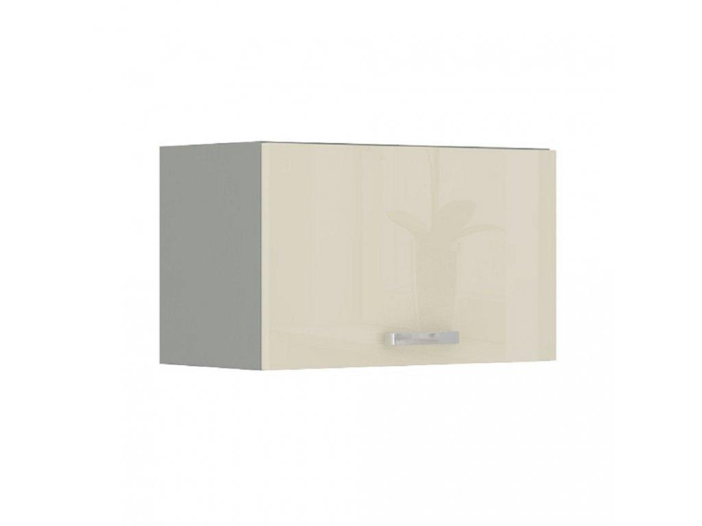 Skříňka horní, krém vysoký lesk, PRADO 60 OK-40
