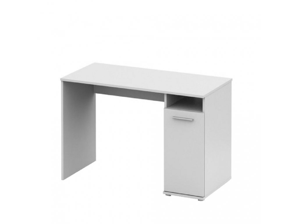 PC stůl, bílá, NOKO-SINGA 21