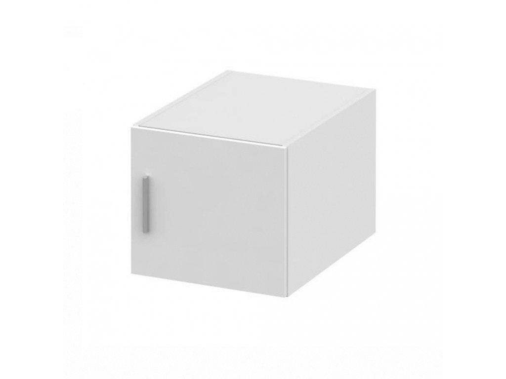 Nástavec na skříň, bílá, INVITA TYP 6