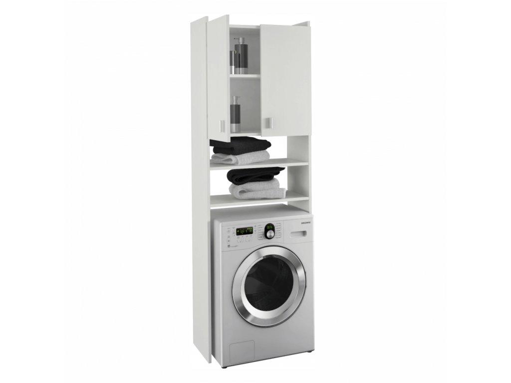Skříňka nad pračku, bílá, NATALI
