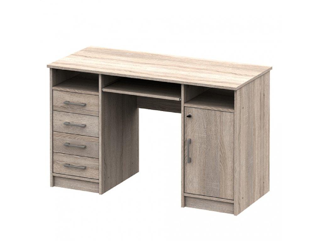 PC stůl, dub sonoma, B9 NEW