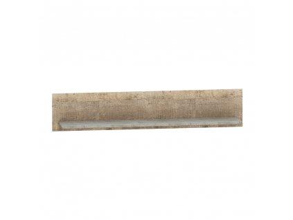 Police, dub pískový / šedá, BARIA 140