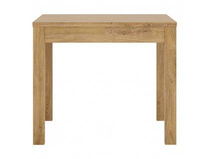 Jídelní stůl, rozkládací, dub shetland, SHELDON TYP 76