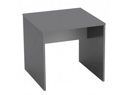 Psací stůl, grafit / bílá, RIOMA TYP 17