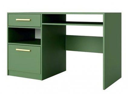 Pracovní stůl BASILIO zelená