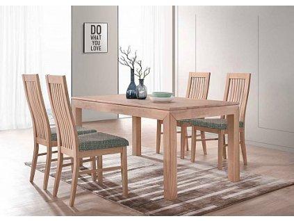 Jídelní stůl MORIS + LAURA židle 1+4