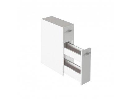 Koupelnová skříňka, bílá, NATALI TYP 7