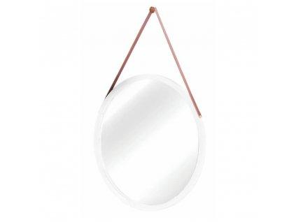 Zrcadlo, bambus/bílá, LEMI 1