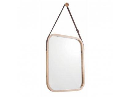 Zrcadlo, přírodní bambus, LEMI 2