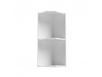 Horní rohová skříňka, bílá, AURORA G25PZ
